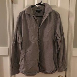 American Eagle Stripped Dress Shirt